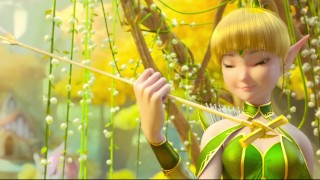 dragon nest throne of elves full movie english